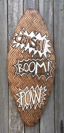 CRASH BOOM POW Shield