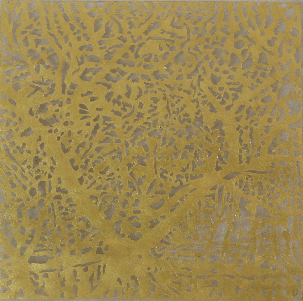 Art Atrium Andrew Tomkins Gold Cut I
