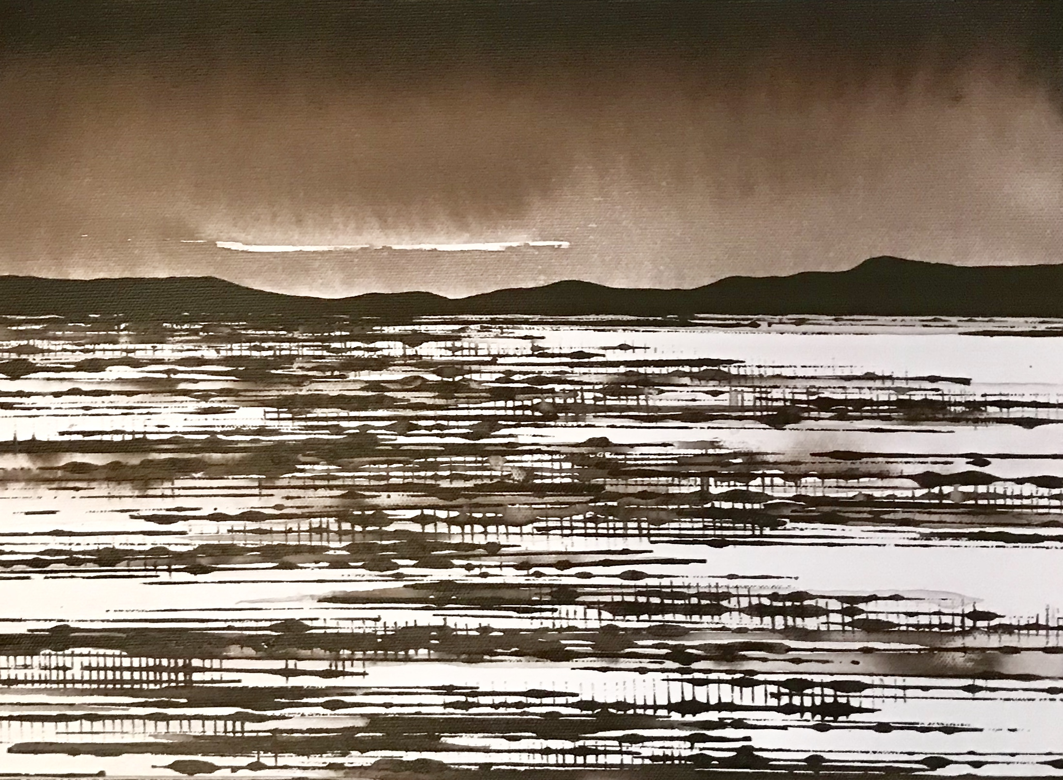 David Middlebrook Desert Field and Cloud