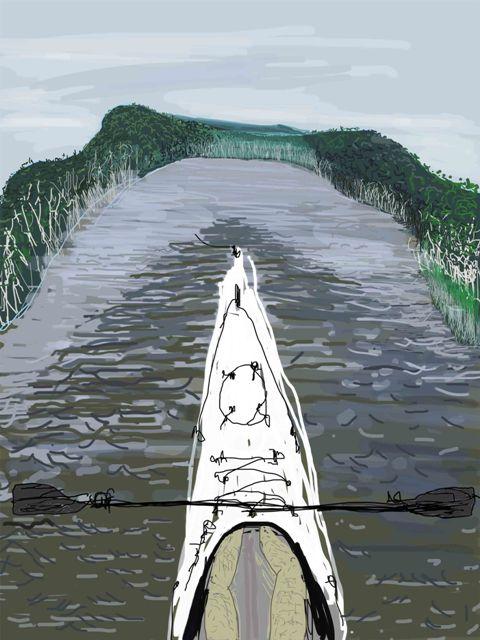 AAPC Kayak Umwelt 57 x 86cm