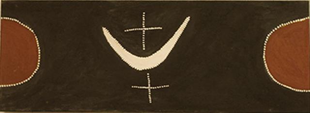 WARDEL & GARNKINY NGARRANGGARNI (STAR & MOON DREAMING) MABEL JULI Wiringgoon