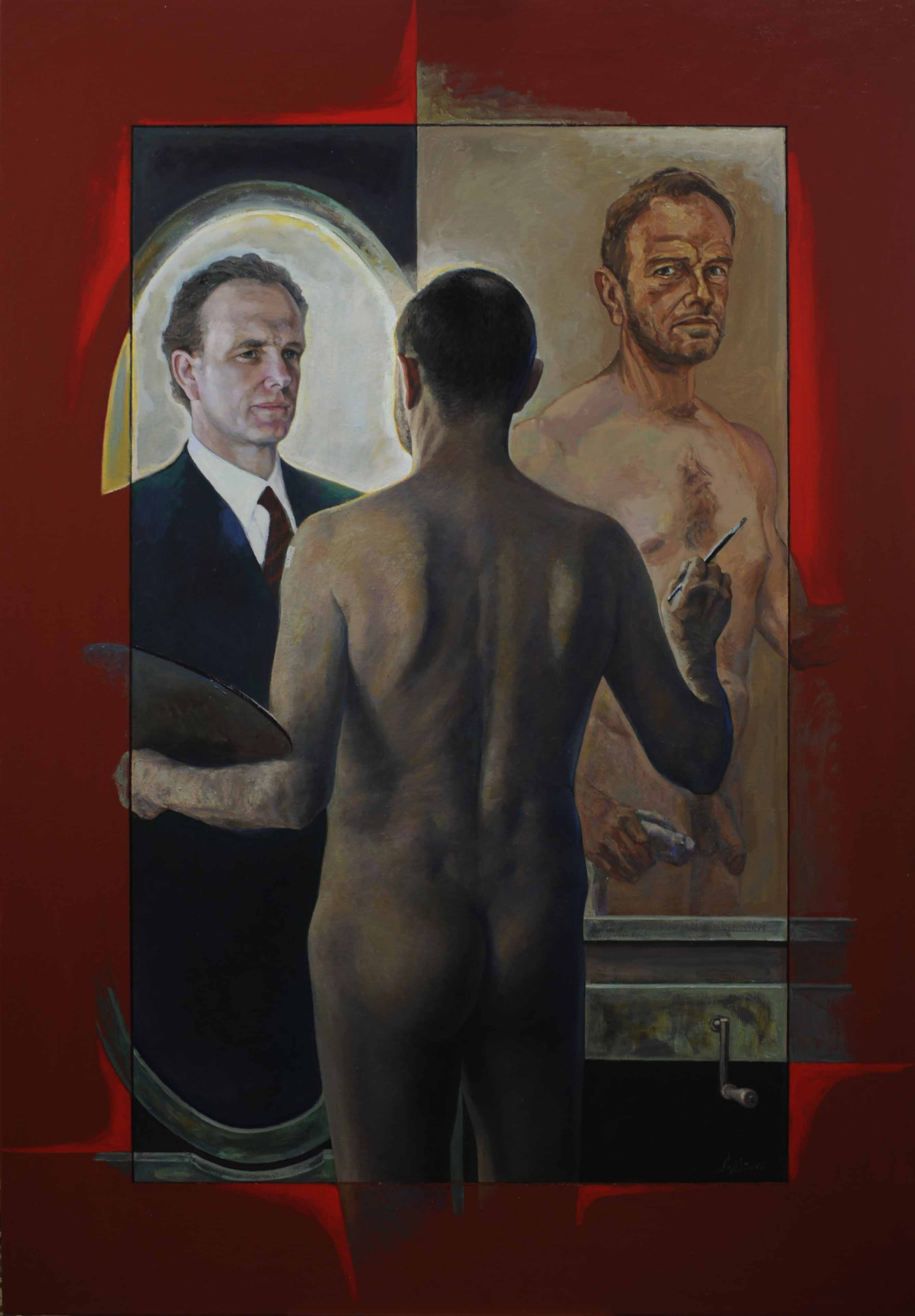 13 Andrew Sayers 安德鲁赛耶斯(2016) oil 198 x 137cm