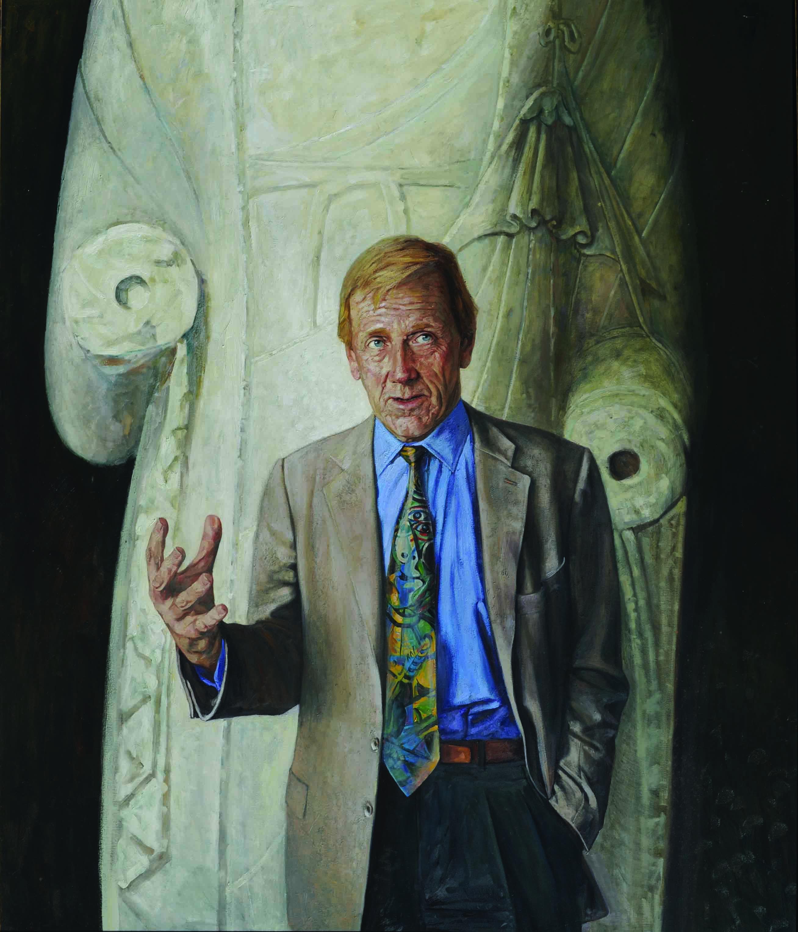 13 Edmund Capon(2003)oil 213 x 167cm