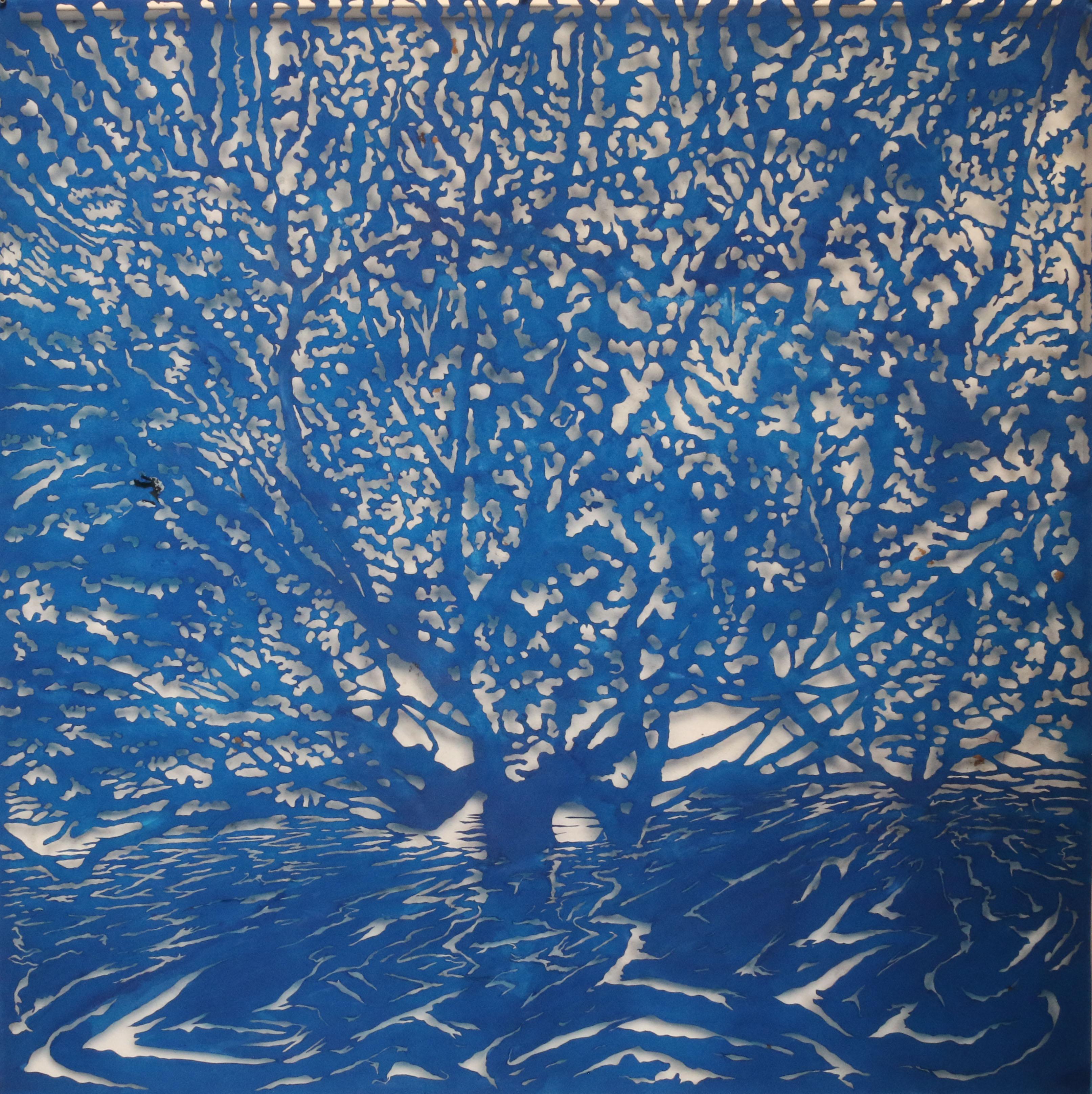 Art Atrium Andrew Tomkins Blue Cut, Meadowbank