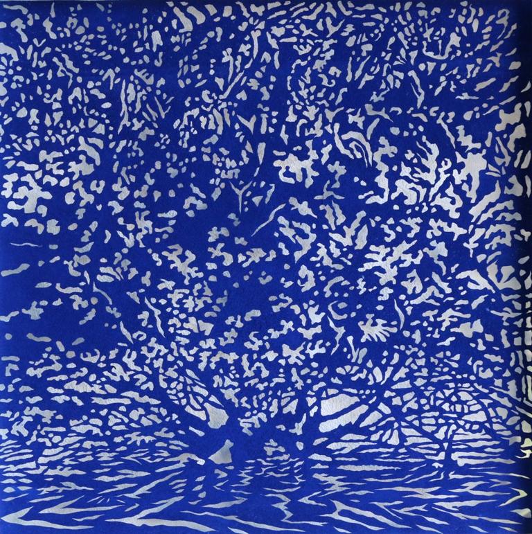 Art Atrium Andrew Tomkins Blue Cut V low res