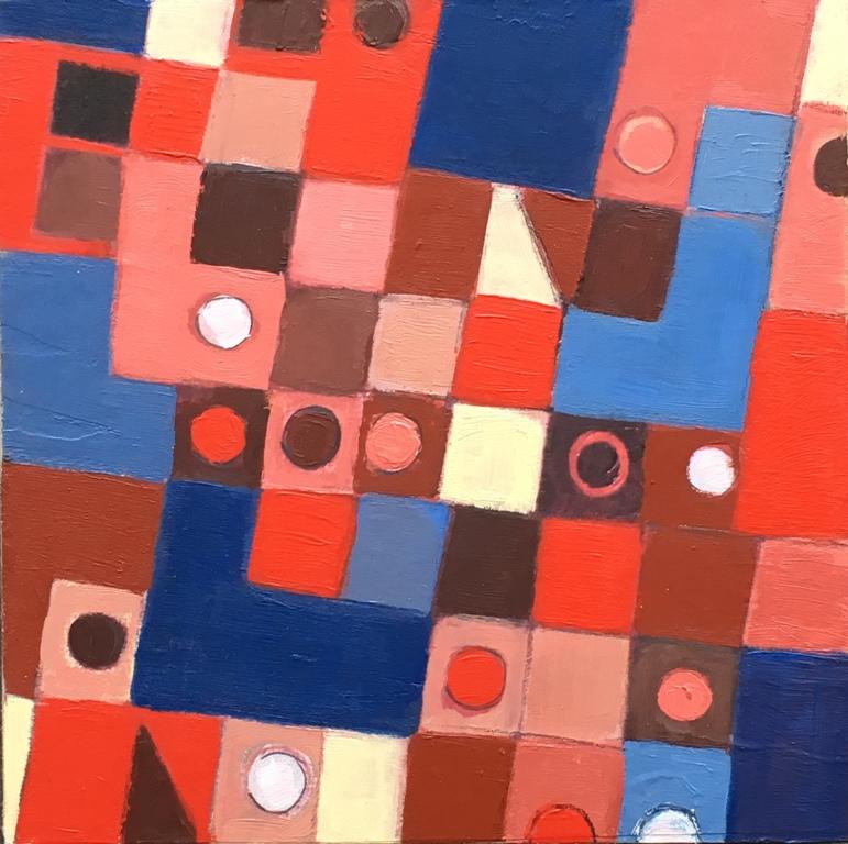 Art Atrium Susan O'Doherty Blue Stop