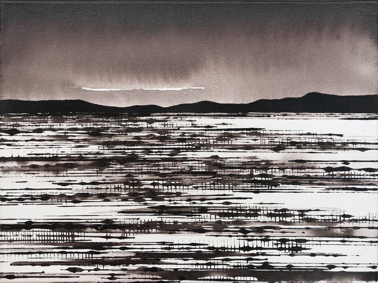Art Atrium David Middlebrook Desert Field and Cloud