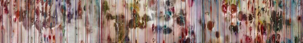 Art Atrium Julie Harris - TSS#7(Chrysanthemums) 80x 540cm Acrylic on polyester