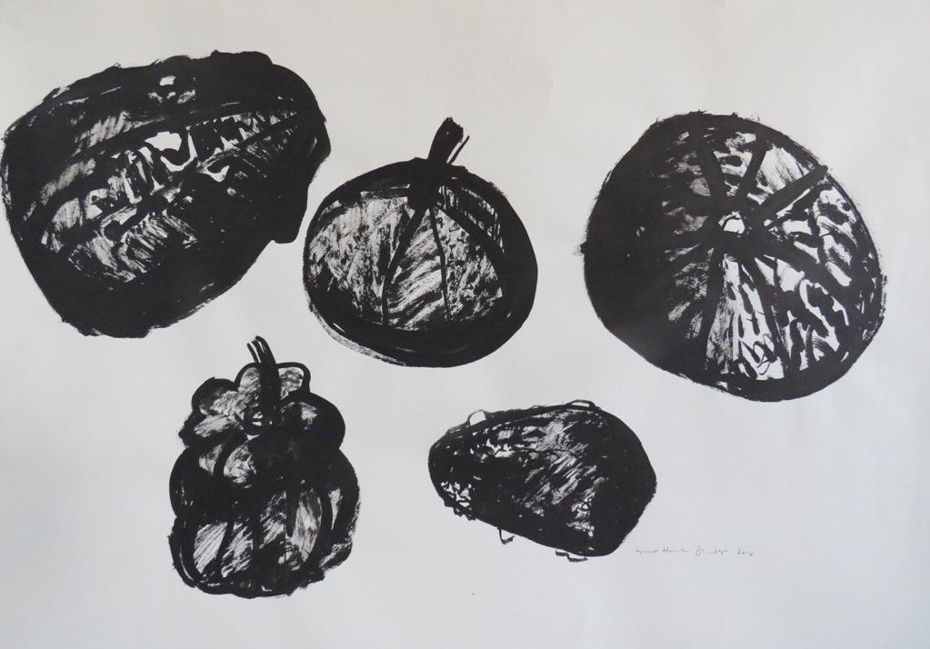 Art Atrium - Lynne Howarth-Gladston 5 Gourds low res