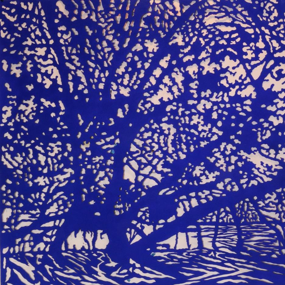 Art Atrium - Andrew Tomkins Blue Cut VI low res
