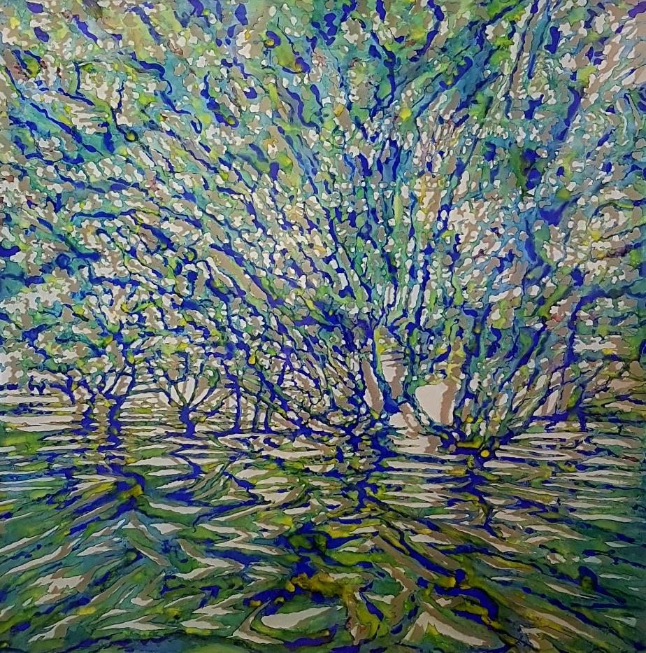 Art Atrium - Andrew Tomkins Green Cut III low res