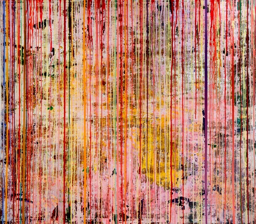 Art Atrium Julie Harris Bab'Aziz#3 137x155cm acrylic on polyester low res