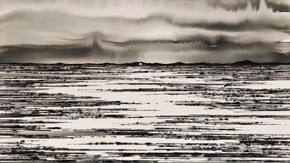 Art Atrium - David Middlebrook - Flood Plain and Icon, China and I low res