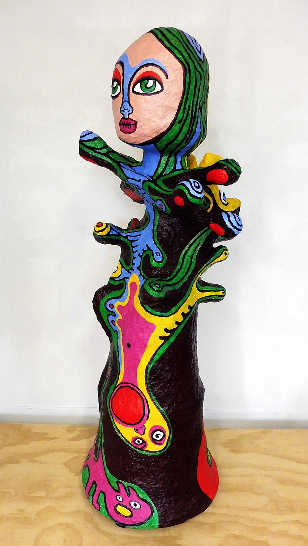 Art Atrium - Mai Nguyen-Long - Vomit Girl