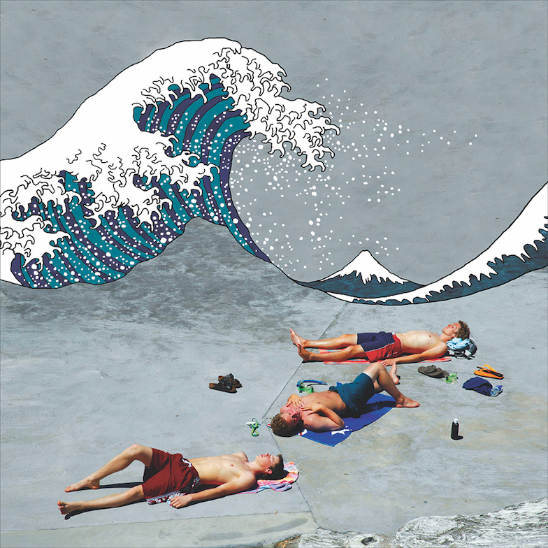 Art Atrium - William Yang - great wave off clovelly k. 2005