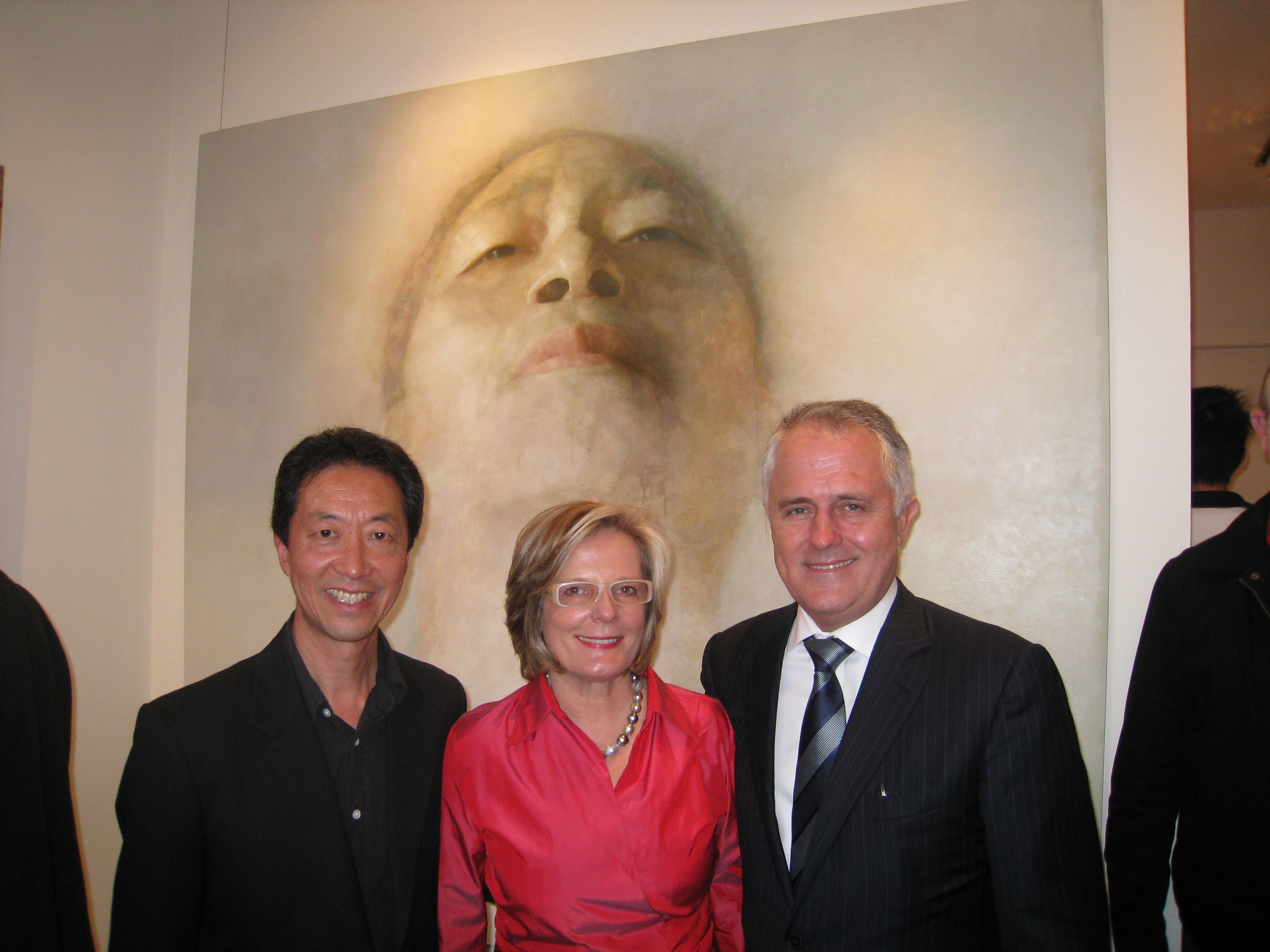 Art-Atrium-Trascendence-launched-by-The-Hon-Malcolm-Turnbull-MP-2009